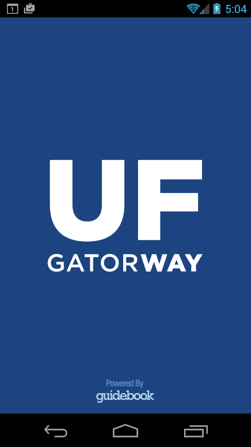 GatorWay- screenshot
