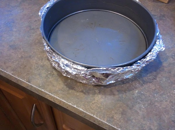 Preheat oven to 350 degrees F. Spray a 9 inch spring form pan with...
