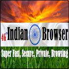 Indian Browser : 4G Experience - Fast Browsing icon
