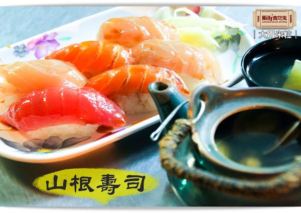 大胃米粒【台南赤崁樓美食推薦】平價日式料理!山根壽司~必吃綜合生魚壽司、土瓶蒸