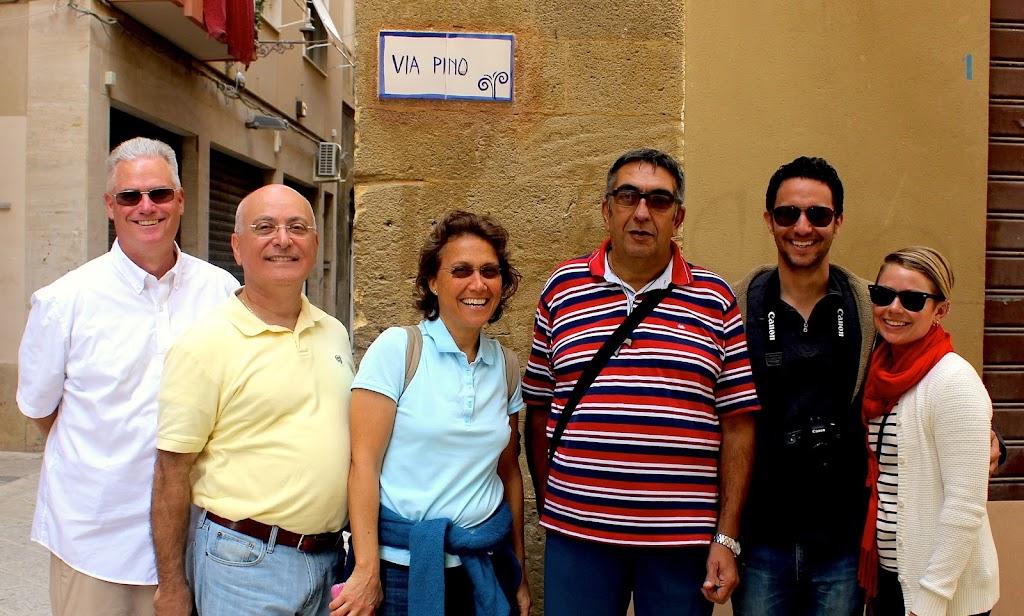 Mazzara dal vallo with Priest Pino