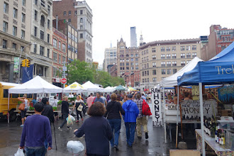 Photo: Farrmer's market at Union Square