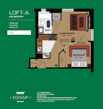 Go to Loft A Floorplan page.
