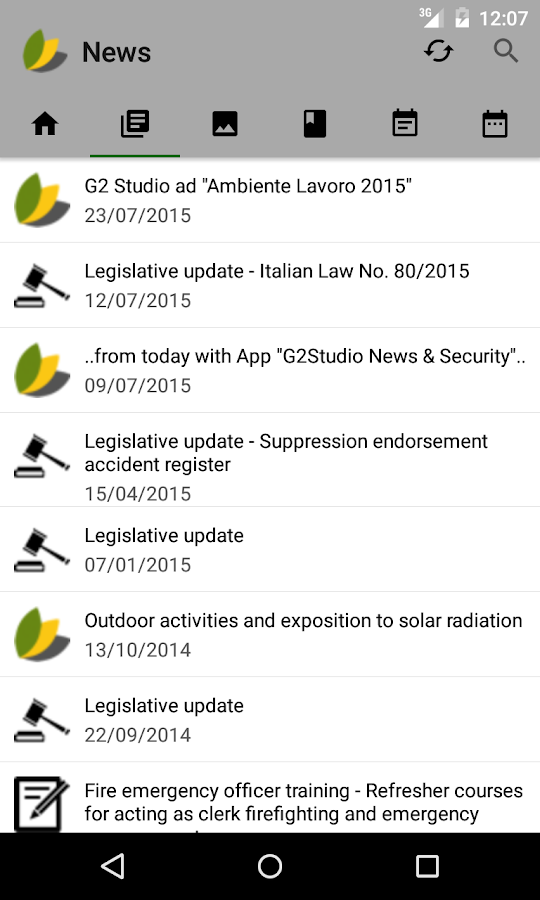 G2Studio News & Safety Lite- screenshot
