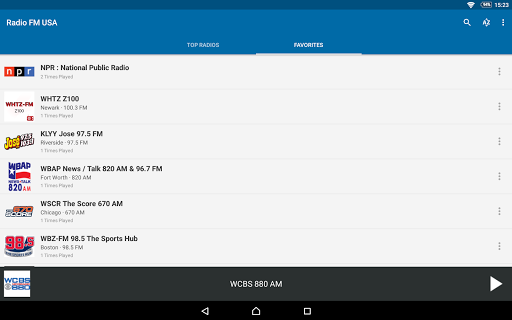 Radio FM USA 6.1 screenshots 8