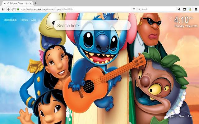 Lilo And Stitch Disney Wallpaper HD