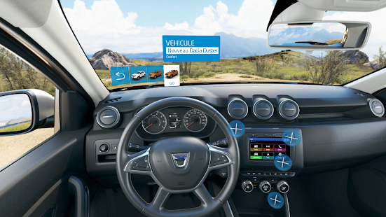 Dacia nouveau duster vr android apps on google play for Interieur nouveau duster