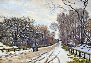 """Photo: Claude Monet, """"La strada per la fattoria di Sant-Simenon"""""""