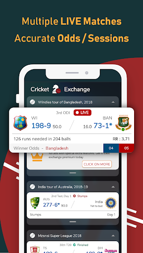 Live Cricket Scores - Cricket Exchange nd4.0.3 screenshots 1