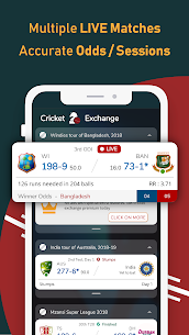 Live Line & Cricket Scores – Cricket Exchange 3