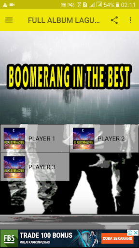 FULL ALBUM LAGU BOOMERANG ss2
