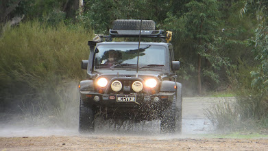 Photo: The Jeep's sweating