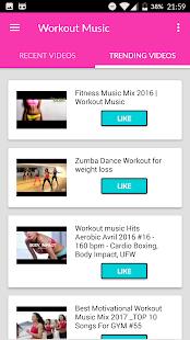 Aerobic Fitness Exercises Screenshot Thumbnail
