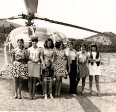 Photo: Neska taldea helikopteroarekin