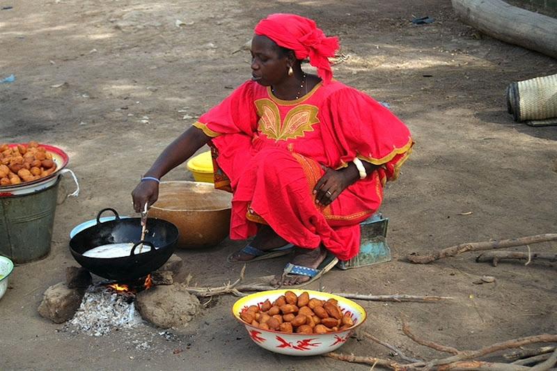 La cuoca di Djenné di paolo-spagg
