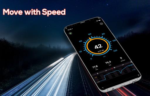 GPS Speedometer: HUD Digi Distance Meter screenshot 6