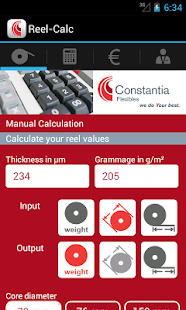 Reel-Calculator – Miniaturansicht des Screenshots