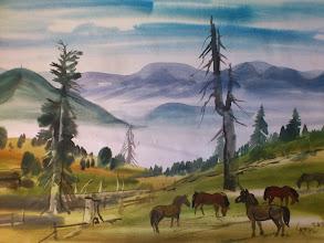 Photo: Ludvík Kunc - akvarel č. 8