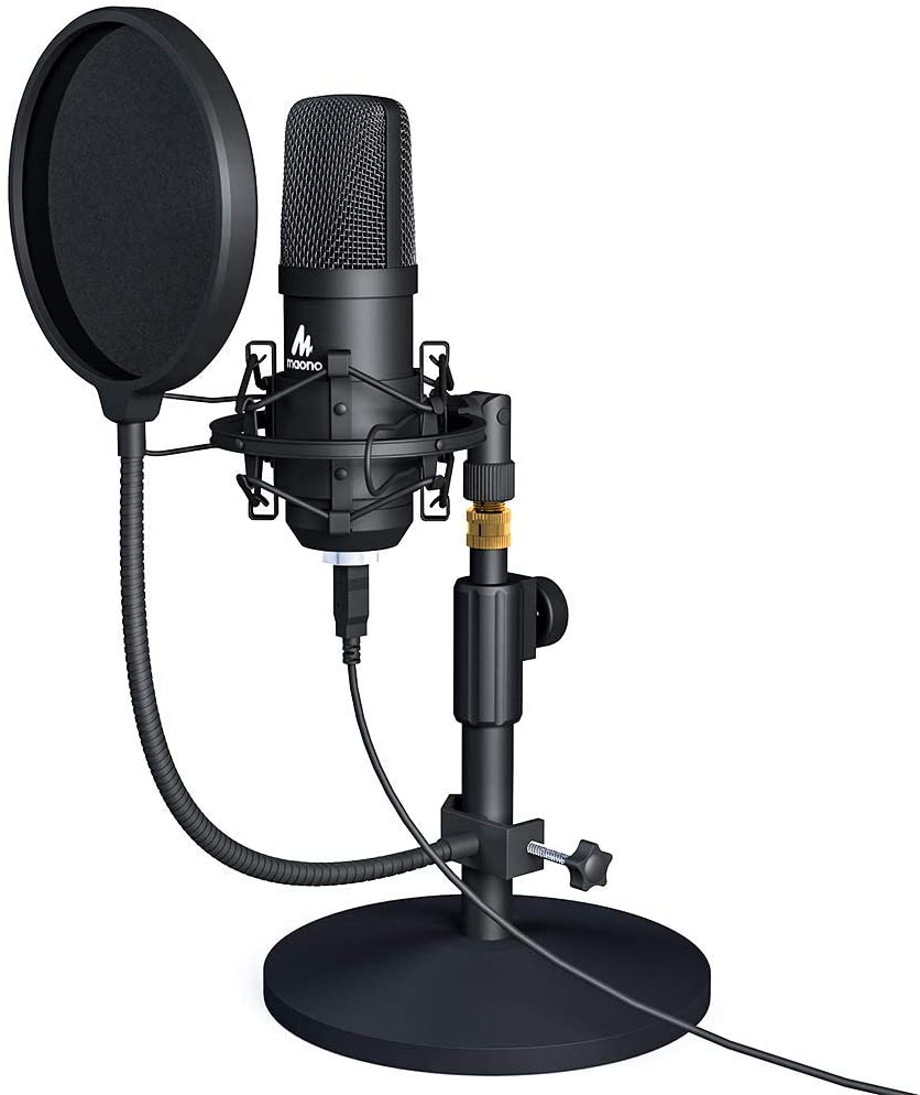 MAONO USB Microphone Kit 192KHZ/24BIT MAONO - The Top-rated Microphone