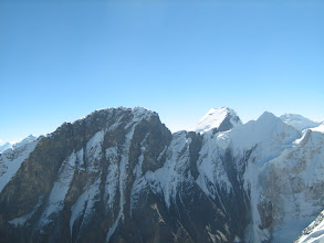 Photo: Mt Basuki and Mt Shatopanth .... as seen from summit