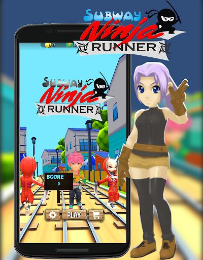 Subway Ninja Runner Go! 1.0 screenshots 1