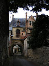 Photo: This medieval gate marks the location of a former Dominican Abbey (now gone) and its extensive grounds. Being taken with this location, the well-known painter Ernest Meissonier came here in 1846 and established an important painting school. This drew important members of Paris' artistic and literary community to the town, as described in a book by Guy de Maupassant.