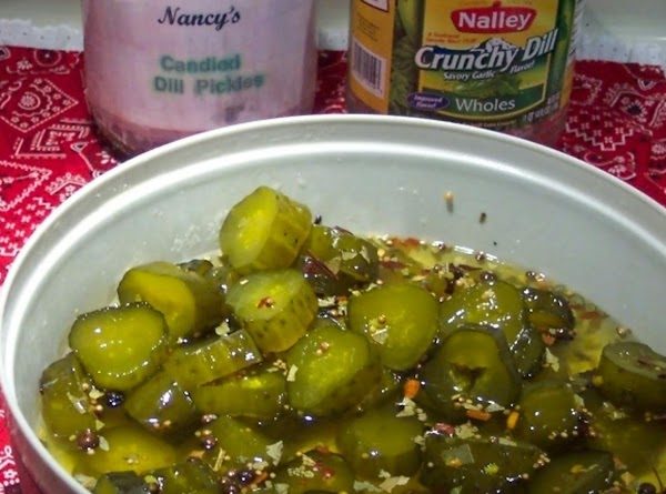 Candied Crunchy Dill Pickle  Hunks.. Recipe
