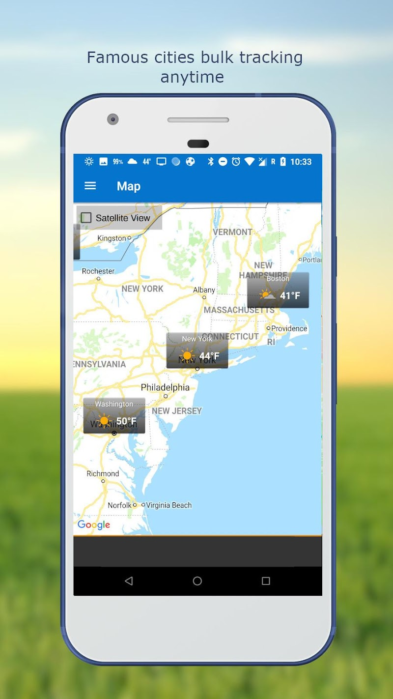 Weather & Clock Widget for Android Ad Free Screenshot 7