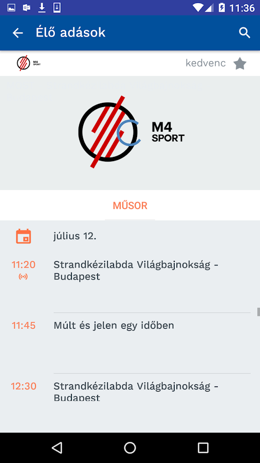 MinDig TV- screenshot