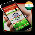 Elegant Indian Flag Launcher icon