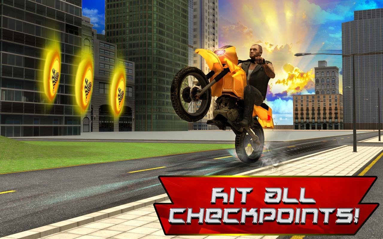 City Biker 3D - screenshot