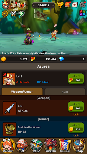 Infinite Dungeon Breach: Pet Raising Idle RPG