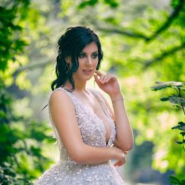 by SOTIRIOS SARAFIS - Wedding Bride ( photooftheday, bride, wedding dress, wedding photography, wedding photographer, photoshop art )