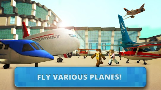 Airport Craft: Fly Simulator Boys Craft Building App Download For Android 1
