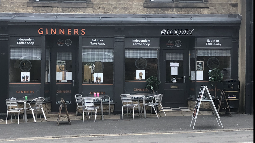 Ginners At Ilkley Coffee Shop