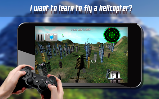 Gunship Helicopter RC Sim