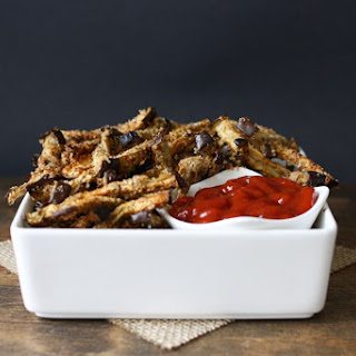 Oven Baked Eggplant Fries Recipe