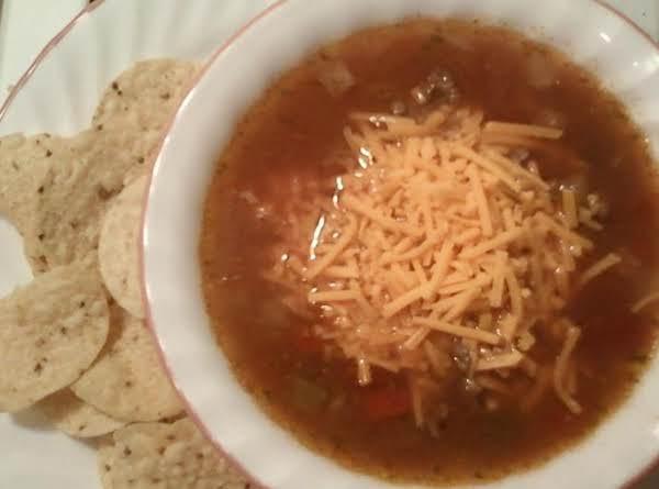 Sassy Taco Soup