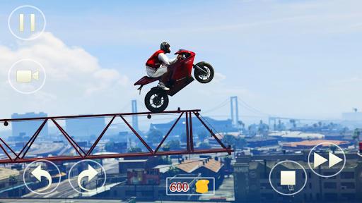 Crazy Biker Extreme Challenge Sky Stunt 3D 1.0 screenshots 2