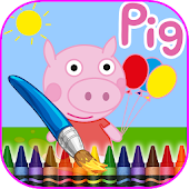 Coloring Book Peppy Pig