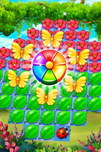 Butterfly Flower Free Match 1.6 usbobble.freematch3.ButterflyFlower apkmod.id 3