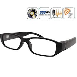 Ochelari cu camera spion si lentila nedetectabila. Audio-Foto-Video