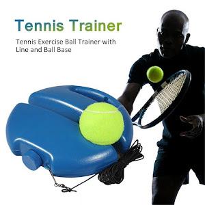 Set pentru antrenament de tenis minge cu elastic