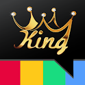 King Follower and Likes icon