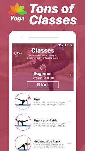 Yoga - Poses & Classes 1.25 screenshots 3