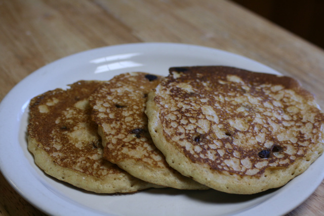 Chocolate Chip Whole Wheat Pancakes Recipe | Yummly