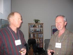 Photo: Professors David Brownstone and Michael Cranston