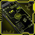 Visionary Launcher 2020 App lock, Hitech Wallpaper icon