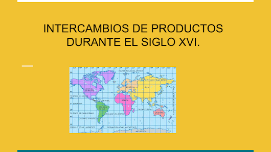 INTERCAMBIOS DE PRODUCTOS.