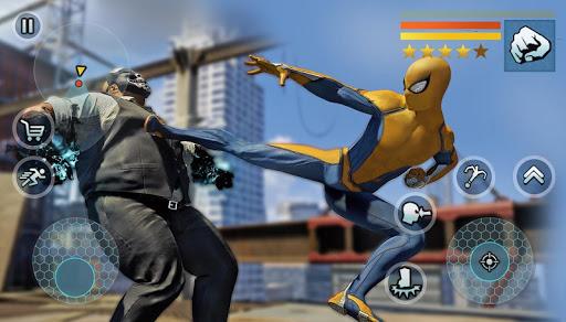 Spider Rope Gangster Hero Vegas - Rope Hero Game apkmr screenshots 4